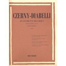 CZERNY-DIABELLI 40 Studietti Melodici