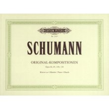 SCHUMANN R. Original Kompositionen Opus 66, 85, 109, 130
