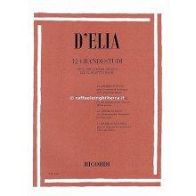 D'ELIA 12 grandi Studi per il virtuosismo tecnico del clarinetto Bohm