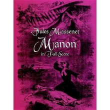 MASSENET J. Manon in Full Score