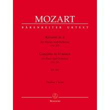 MOZART W.A. Konzert in d fur Klavier und Orchester KV466