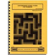 COLIN A. Contemporary atonal etudes for trombone