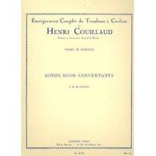 COUILLAUD H. Douze duos concertants