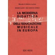 ALLORTO-D'AGOSTINO La moderna didattica dell'educazione musicale in Europa