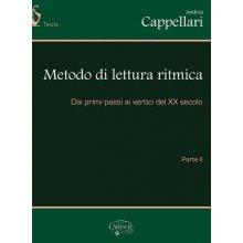 CAPPELLARI A. Metodo di lettura ritmica (Parte II)