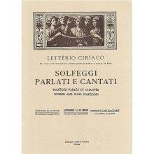 CIRIACO L. Solfeggi Parlati e Cantati (III corso appendice)
