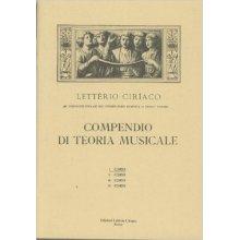 CIRIACO L. Compendio di Teoria Musicale (I corso)