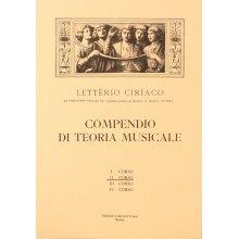 CIRIACO L. Compendio di Teoria Musicale (II corso)