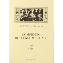 CIRIACO L. Compendio di Teoria Musicale (III corso)