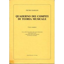 DAMIANI P. Quaderno dei compiti di teoria musicale