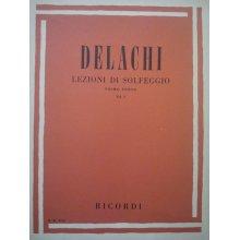 DELACHI Lezioni di Solfeggio - Primo Corso (vol.1)