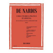 DE NARDIS Corso teorico-pratico di armonia (parte I)