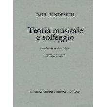 Hindemith P. Teoria musicale e solfeggio