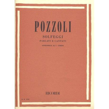 POZZOLI E. Solfeggi parlati e cantati (1° corso appendice)