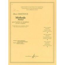 DEBONDUE Méthode pour hautbois ou saxophone