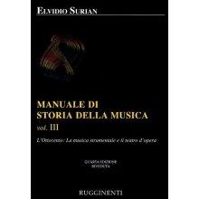 SURIAN E. Manuale di Storia della Musica (vol.III)