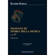 SURIAN E. Manuale di Storia della Musica (vol.IV)