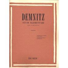 DEMNITZ F. Studi Elementari per Clarinetto