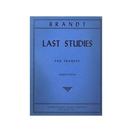 BRANDT V. Last Studies for Trumpet