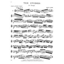 FRIESE E. 10 Studies for Trumpet