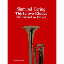 HERING S. 32 Etudes for Trumpet or Cornet