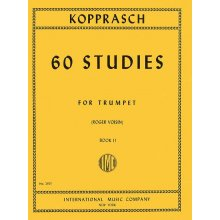 KOPPRASCH C. 60 Studies for Trumpet book II