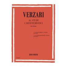 VERZARI S. 16 Studi caratteristici per tromba