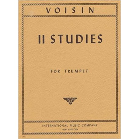 VOISIN R. 11 Studies for Trumpet