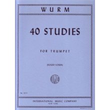 WURM W. 40 Studies for Trumpet