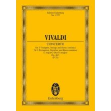 VIVALDI A. Concerto in C major for two trumpets and piano