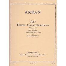 ARBAN J.B. 7 études caractéristiques