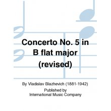 BLAZHEVICH V. Concerto No.5 for Trumpet and Piano