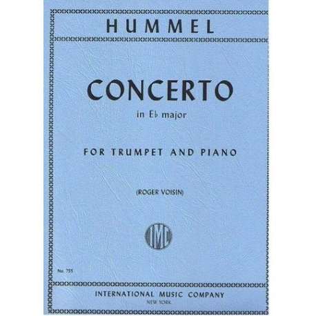 HUMMEL J. Concerto in Eb major for Trumpet and Piano