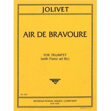 JOLIVET A. Air de Bravoure for Trumpet