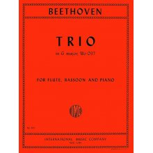 BEETHOVEN L.van Trio in G major for Flute, Bassoon, Piano