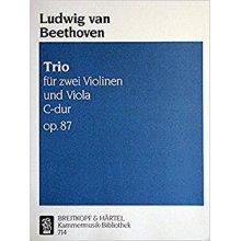 BEETHOVEN L.van Trio C-dur zwei Violinen und Viola Op.87