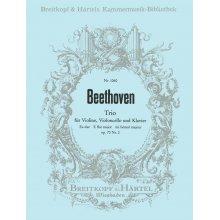 BEETHOVEN L.van Trio fur Violine, Violoncello, Klavier Op.70 n.2