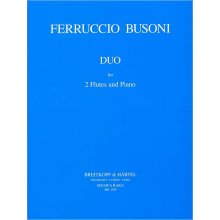BUSONI F. Duo for 2 Flutes and Piano