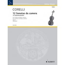 BUSONI F. 12 Sonate da camera opus 2 (book 2)