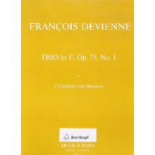 DEVIENNE F. Trio in F Op.75 No.1
