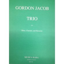 JACOB G. Trio for Oboe, Clarinet, Bassoon