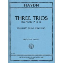 HAYDN F.J. Three Trios Hob.XV No.17-16-15