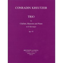 KREUTZER C. Trio in Eb Op.43