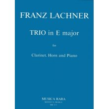 LACHNER F. Trio in E major for Clarinet, Horn, Piano