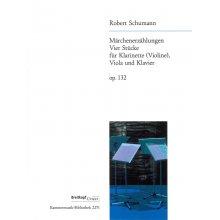 SCHUMANN R. 4 Stucke fur Klarinette (Violine) Viola und Klavier op.132