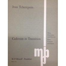 TCHEREPNIN I. Cadenzas in Transition (Flauto, Clarinetto, Pianoforte)