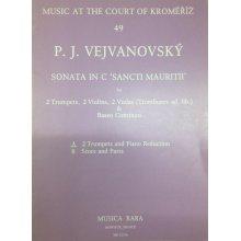 """VEJVANOVSKY P.J. Sonata in C """"Sancti Mauritii"""""""