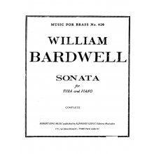 BARDWELL W. Sonata for Tuba and Piano