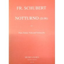 SCHUBERT F. Notturno (D.96) for Flute, Guitar, Viola, Violoncello