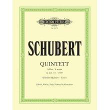 SCHUBERT F. Quintett A-Dur op.post.114 - D667